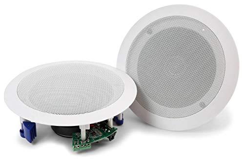 """Power Dynamics CSBT60 5,25\"""" Deckenlautsprecher-Set Bluetooth weiß"""