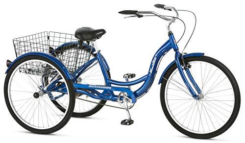 Schwinn Meridian Dreirad für Erwachsene, 26 Räder, Blau