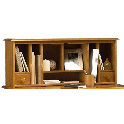 Beaux Meubles Pas Chers - Surmeuble Table à écrire de Style Anglais pin Miel 38151