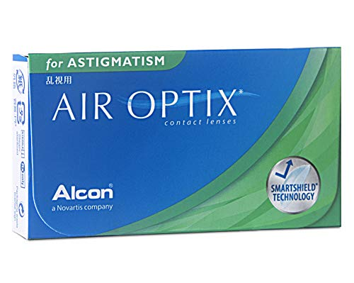 Alcon Air Optix for Astigmatism  weich, 6 Stück / BC 8.7 mm / DIA 14.5 mm / CYL 0.75 / ACHSE 120 / -1.75 Dioptrien