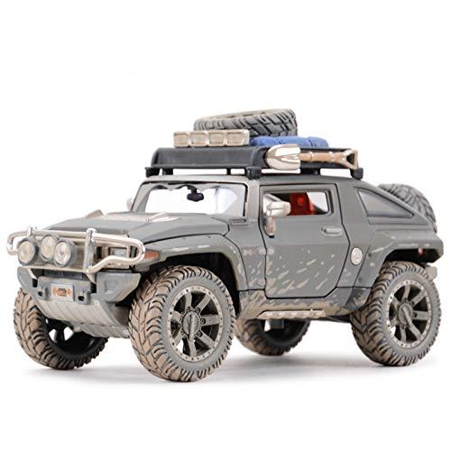 Modelo De Coche Famoso 1:24 para 2008 Hummer HX Concepto Estado Estado Matrices Vehículos Modelo Coleccionable Modelo Deportivo Juguetes (Size : Wite Box)