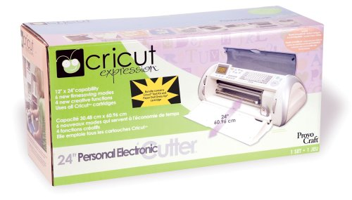 Cricut Expression Personal Electronic Cutter 290817 with 3 Cartridges