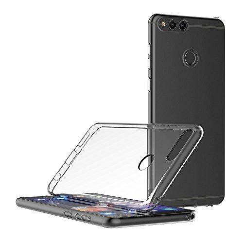 AICEK Honor 7X Hülle, Transparent Silikon Schutzhülle für Huawei Honor 7X Case Clear Durchsichtige TPU Bumper Honor 7X Handyhülle (5,93 Zoll) - 5