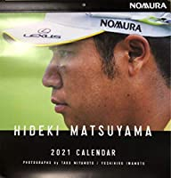 2021年 松山英樹 プロゴルファー カレンダー