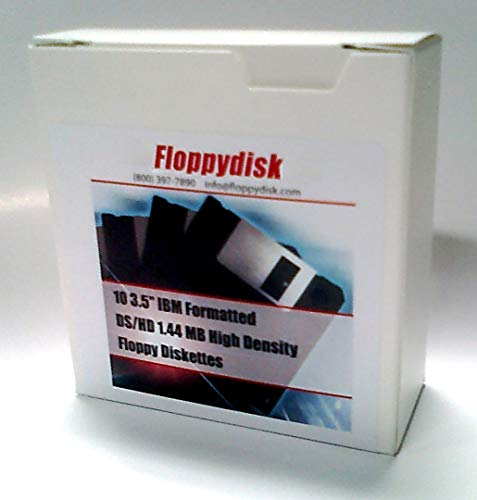 50 Floppy Disks. 3.5 inch Diskettes. Formatted 1.44 MB DS/HD MF-2HD. Manufactured in 2011.