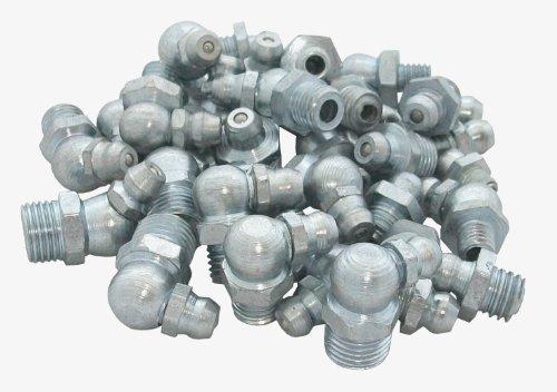 CON:P B34154 Assortiment tétons de graissage galvanisés 110 pièces