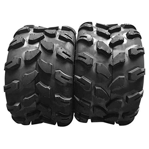 MOTOOS Set of 2 ATV UTV Tires 18x9.5-8 18x9.5x8 Load Range B Z-124 All-Terrain Tires 4PR Tubeless