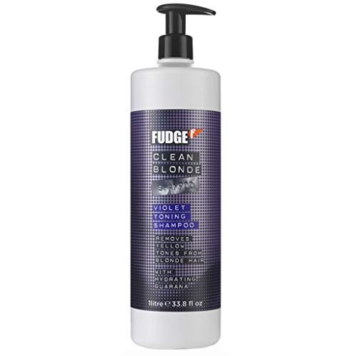 Fudge Clean Blonde Violet Shampoo litre (new 2014 packaging)