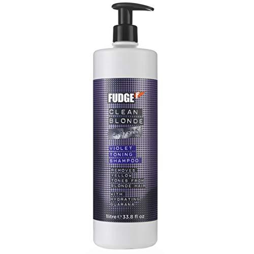 Fudge Clean Blonde Violet Toning Shampoo for Unisex 33.8 fl.oz.