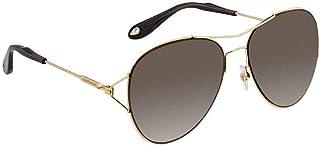 جيفينشي نظارة شمسية افييتور للنساء - 56-16-140mm , رمادي - 7005/S-J5G56Ha