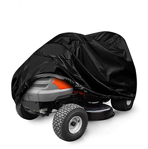 2O2OUP Lawn Mower Cover, 54'Waterproof Riding Lawn Tractor Cover, 210D...