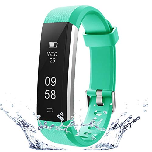 COOLEAD Pulsera Actividad Mujer Hombre Reloj Inteligente Podómetro Monitor de Actividad Impermeable IP67 Fitness Tracker Pulsera Deportiva con Contador de Calorías Monitor de Sueño para iOS Android