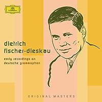 DIETRICH FISCHER-DIESKAU Early Recordings on Deutsche Grammophon by Dietrich Fischer-Dieskau
