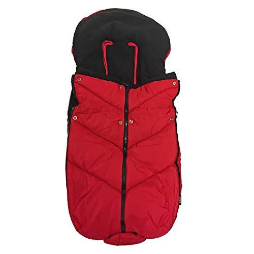 Bozz Ergo Red Universal Extra Lange Dikke Fleece Voetenbank/Cosytoes/Cosybag die past bij alle kinderwagens, Pushchairs en Travel Systems - Uitneembare Top voor Liner