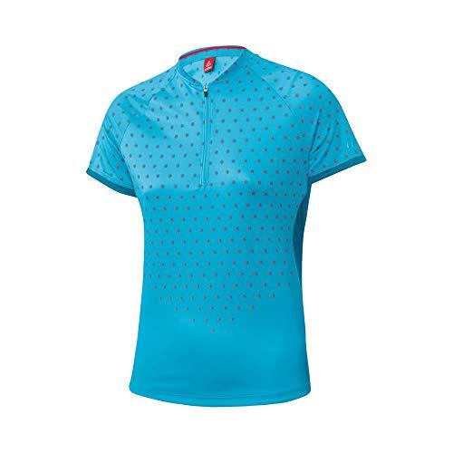 LÖFFLER Rise Up Half-Zip Sky 2020 - Maillot de ciclismo para mujer...