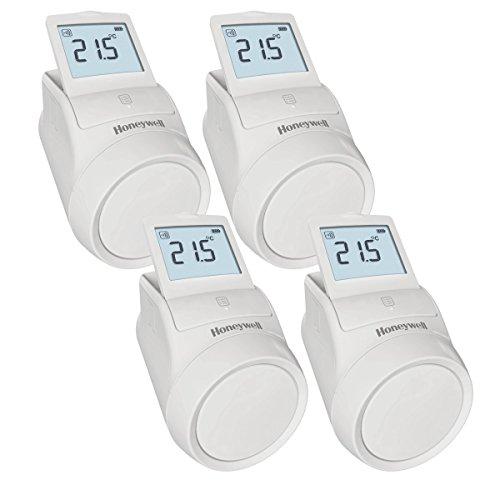 HONEYWELL; Termostato grifo de radiador wifi kid 4 unidades, HR92WE (accesorio)