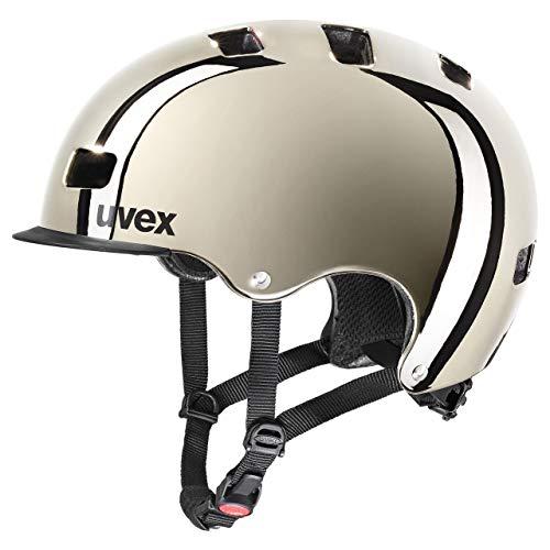 uvex Unisex– Erwachsene, hlmt 5 bike pro chrome Fahrradhelm, chrome, 58-61 cm