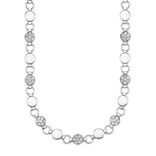s.Oliver Collier für Damen aus Edelstahl mit Swarovski® Kristallen