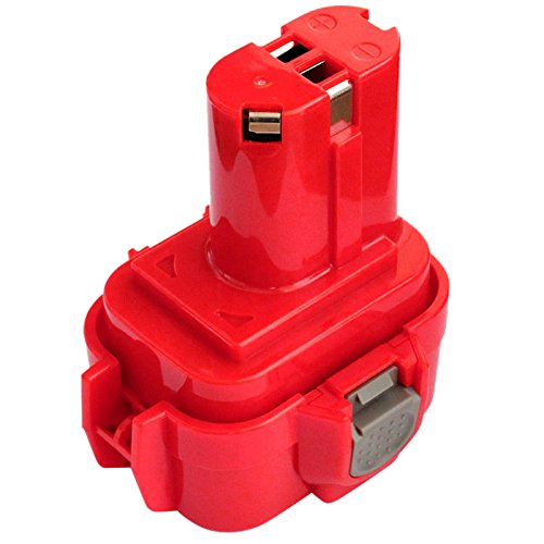 TOOGOO Bateria inalambrico de Taladro para Makita 9120 9122 6207D 6260D BMR100 ML903 9.6V 2.0Ah