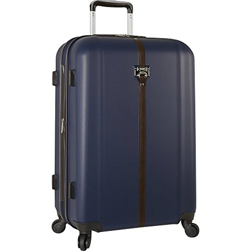 """Chaps 24"""" Expandable Spinner Luggage, Navy"""