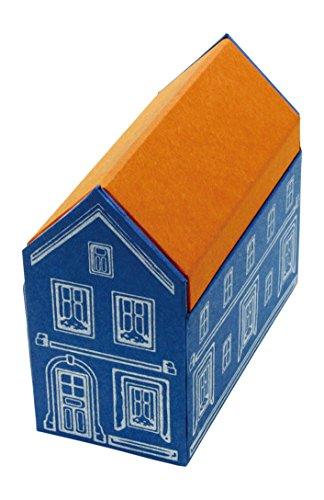 グローバルフォルムコンクリート 卓上小物入れ PAPER STORAGE HOUSE S ブルー PSTRA00102