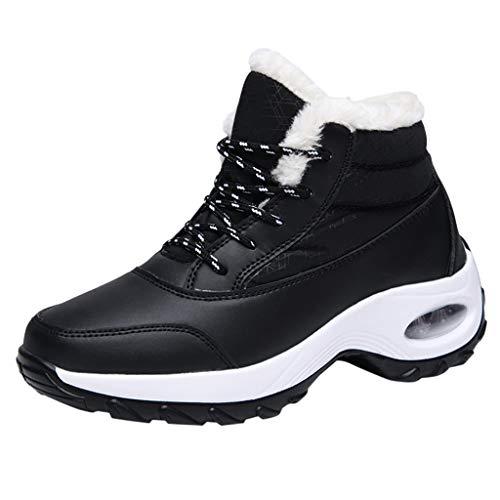 Masoness 🍁🍁 Winter Warm Sportschuhe Damen Mode Baumwollschuhe Light Snow Boots Dickes Schaukeln Wandern Schneestiefel