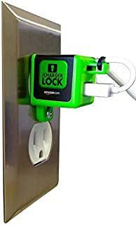 iChargerlock - The ONLY Apple iPhone Charger & Cord Lock-No One Will take Your Charger Again! Lock ONLY - Charger & Cord NOT Incuded