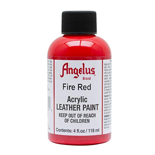 Angelus Lederlack, ca. 120 ml, Feuerrot