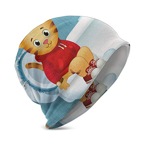 Stop And Go Daniel Tiger Potty Child Kid Boy Girl Beanie Cap Winter Outdoor Slouchy Warm Hat