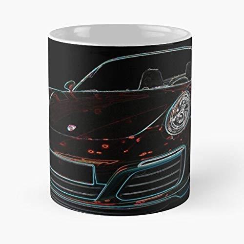 5TheWay Porsche 918 Turbo Rs Gt3 911 Best 11 oz Kaffeebecher - Nespresso Tassen Kaffee Motive