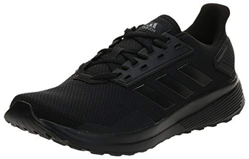 Adidas Duramo 9, Zapatillas de Entrenamiento Hombre, Negro (Core Black/Core Black/Core Black 0), 45 1/3 EU