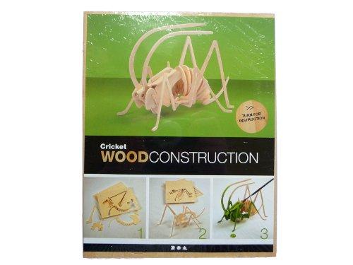 3D Jigsaw Puzzle, size 18x22 cm, plywood, cricket, 1 pc