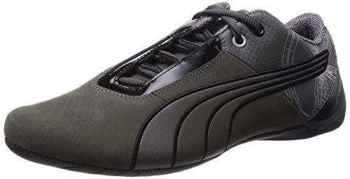 Puma Men's Future Cat S1 Graphic Dark sha Black Low Boot (30552601)