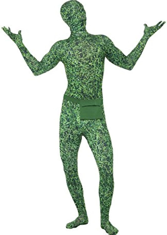 Grasfläche Gras grün Second Skin, Größe L B06XYWNKJT Kindlich   | Billiger als der Preis