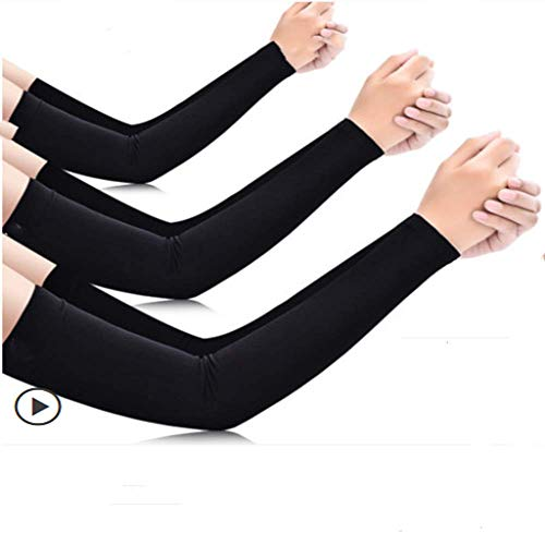 Playboy Men's Icy Sleeves Summer Sun Protection Arm Sleeves Ice Silk Female Sleeves Anti-UV Hand Sleeves Talla única