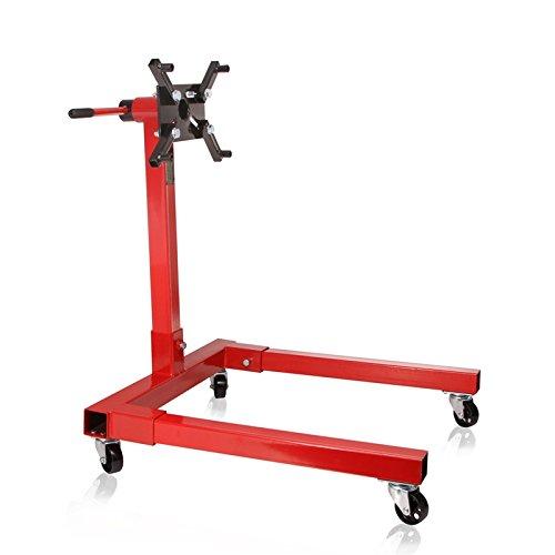 TECPO Werkstatt Motorständer Werkzeug 570kg Getriebeständer Motorhalter Getriebeträger