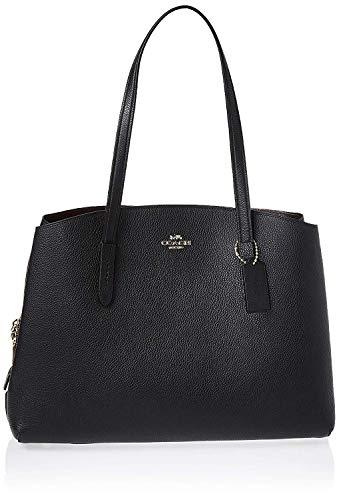 Coach Charlie Carryall Ladies Medium Blue Leather Tote Bag 52547SVBHP