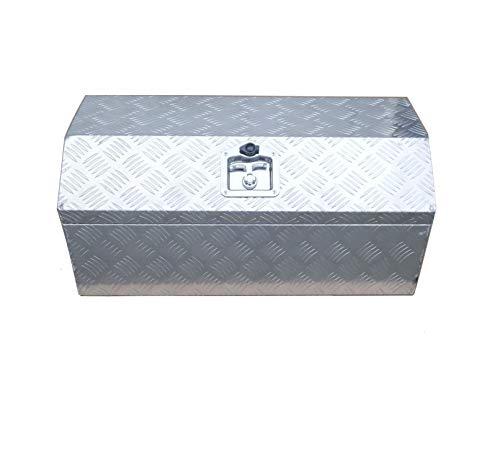 "Brait 30"" Aluminum Tool Box for ATV Storage Truck Pickup RV (Silver/No handle)"