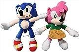 Peluche Sonic 2pcs Sonic Boom Plush Cartoon PP Cotton Sonic Soft Blue Plush para niños Regalos de cumpleaños Envío gratis