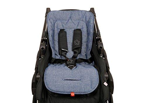 Kaiser 6537872 Sommer Komfortauflage Kinderwagenauflage Kinderwageneinlage Sitzauflage