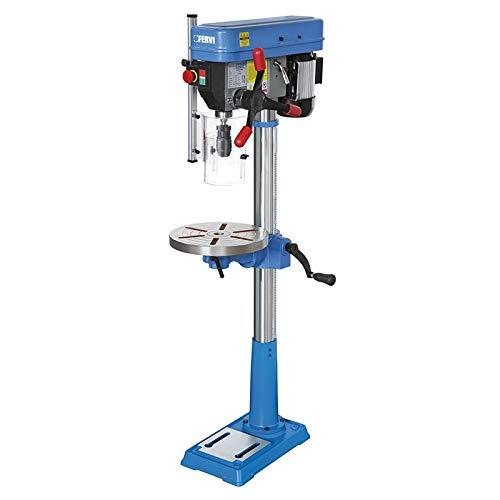 Taladro a columna con transmisión a correa, tabla giratorio
