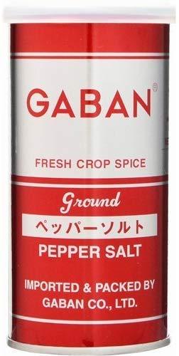 GABAN ペッパーソルト(塩コショー) 145g