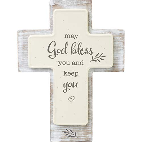 Precious Moments 191492 May God Bless You and Keep You Cross One Size Multi