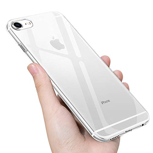 UBEGOOD Handyhülle kompatibel mit iPhone 6S/iPhone 6 Hülle, Vaguo6TPU4d Anti-Shock Kratzfeste iPhone 6S Silikon cover Premium Schutzhülle iPhone 6 Bumper Case für iPhone 6S Case Cover-Transparent