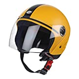 Virgo Trekker Helmet with Clear Visor (Yellow)