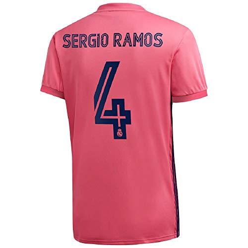 Sergio Ramos #4 Real Madrid Away Jersey 20-21 (2XL) Pink