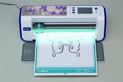 Brother CM600 Scan-N-Cut Schneideplotter mit Scanner weiß - 4