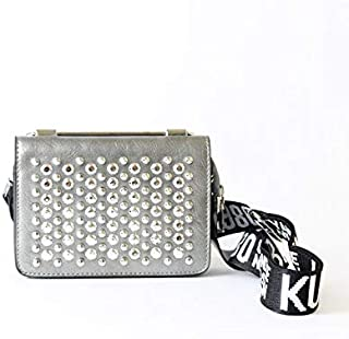 Lenz Wristlets Bag For Women, Silver, aM19-B096
