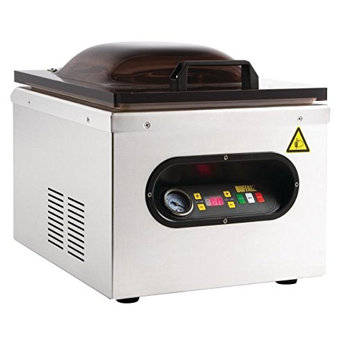 Buffalo Chamber Machine d'emballage sous vide 378X359X429mm Acier inoxydable Joint alimentaire