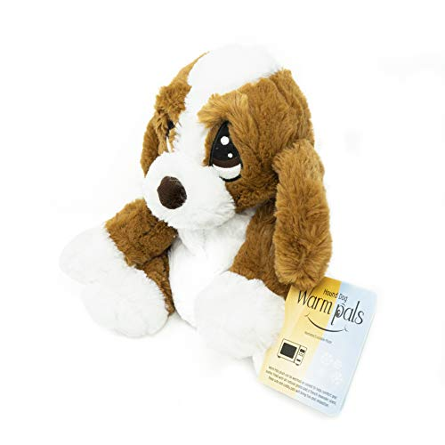 Warm Pals Microwavable Lavender Scented Plush Toy Stuffed Animal - Hound Dog